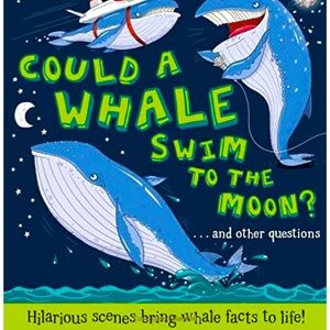 """🌈3/$20~Hardcover Book """"Could a Whale Swim to..."""""""